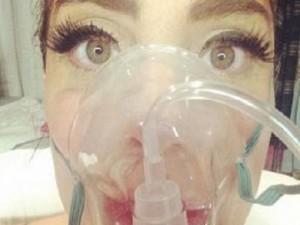 Lady Gaga imita Belen con selfie strani