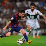 Leo Messi Champions League Pallone d'Oro