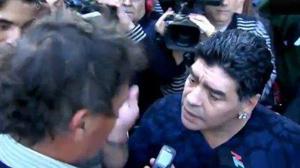 Maradona intervista
