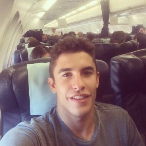Marquez in aereo