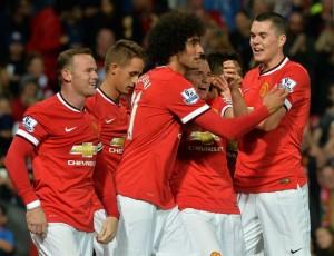 Fellaini del Manchester Utd