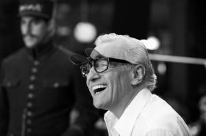 il regista Scorsese