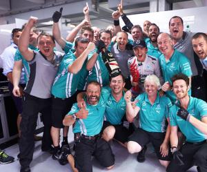 Rosberg è secondo