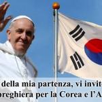 Papa Bergoglio nell'Estremo Oriente Asiatico