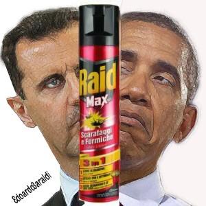 Il regime di Assad apre ai raid Usa in Siria