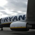 Fulmine su aereo Ryanair