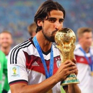 Sami Khedira del Real Madrid