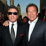 Schwarznegger e Stallone nemici amici
