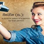 selfie luce sfondo