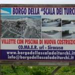 Realmonte Agrigento sequestrate villette Borgo Scala dei Turchi
