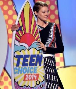Shailene Woodley gran trionfatrice