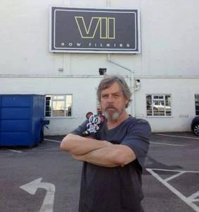 Mark Hamill in Star Wars VII
