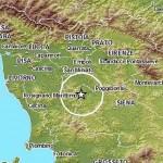 Terremoto in Toscana avvertito a Firenze