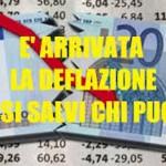 deflazione italia dieci città