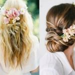 Moda capelli 2014 5 idee per portare i fiori tra i capelli