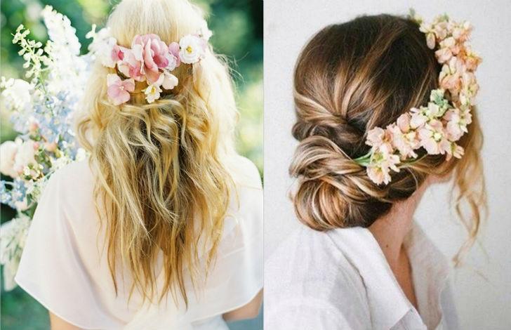 Acconciature 2014  5 modi per portare i fiori tra i capelli - UrbanPost 487387bbb56e