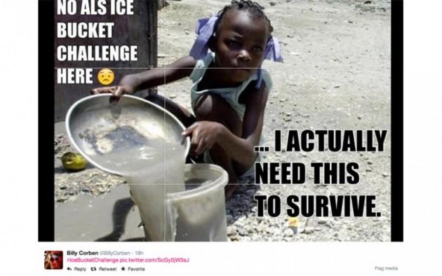 africa doccia fredda