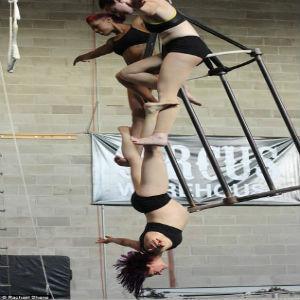 trapezista incinta circo