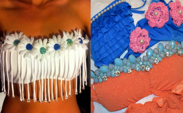 Moda mare low cost creare dei bikini personalizzati con - Come creare costumi da bagno ...