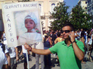 lorenzo zaratta muore 5 anni Ilva