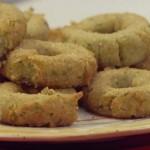 ricetta vegetariana benedetta parodi ciambelle fritte con zucchine
