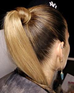 ponytail trend 2014