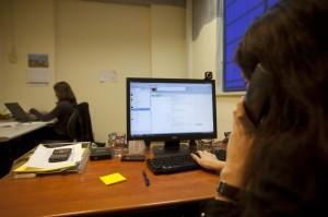 computer in ufficio app siti vietati