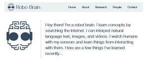 home sito robo brain