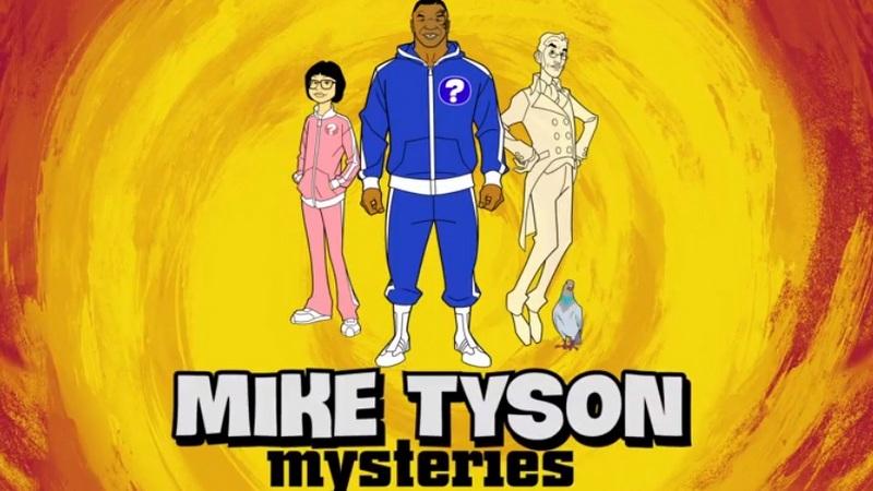 Mike tyson si trasforma in un cartone animato tentativo