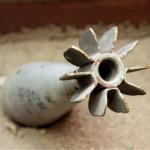bombe inesplose sulla spiaggia di Capo Teulada in Sardegna