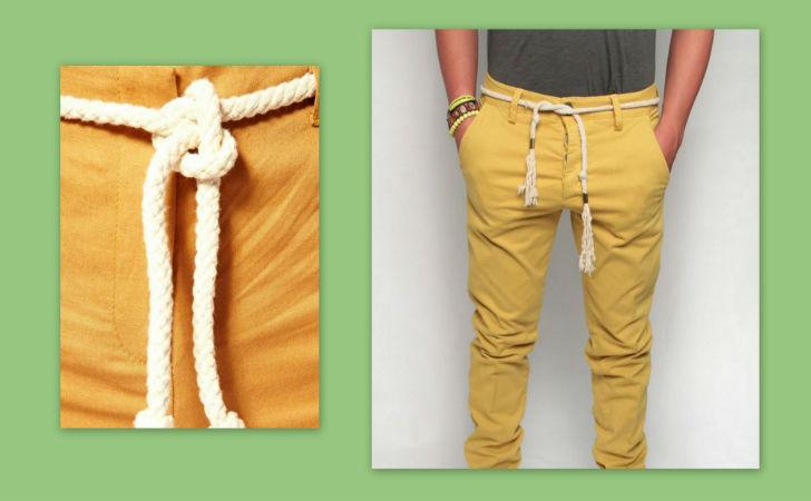 spesso Moda uomo estate 2014: i pantaloni di lino con la cintura di corda  NU14