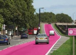 pink zones in GB