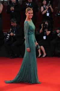 elena barolo look red carpet a venezia 2014