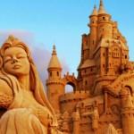 sculture di sabbia esposizione Riviera romagnola 2014