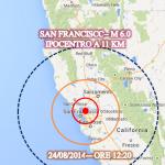 sisma magnitudo 6 a San Francisco