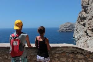 turisti in vacanza