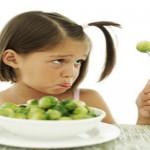 far mangiare verdura bambini