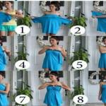 come creare un vestito da sera da una t shirt tendenze eztate 2014