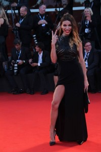 vittoria schisano red carpet venezia 71