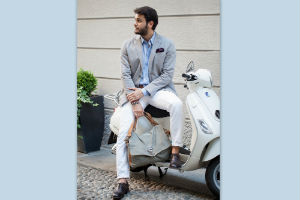 Moda uomo autunno 2014 look mix and match mezza stagione