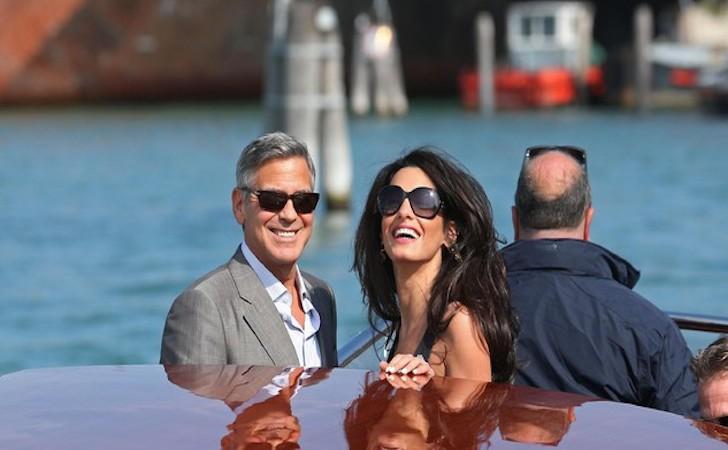 matrimonio clooney venezia vip