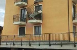 L'Aquila crollo balcone Progetto Case