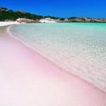 Budelli spiaggia rosa divieto balneazione