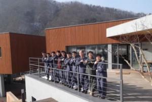 finti detenuti coreani