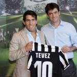 Carlos Tevez della Juventus