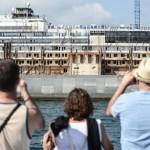Costa Concordia giro turistico