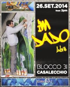 evento writing Bologna con Dado 2014