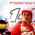 Il ferrarista Fernando Alonso