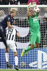 Buffon portiere della Juve