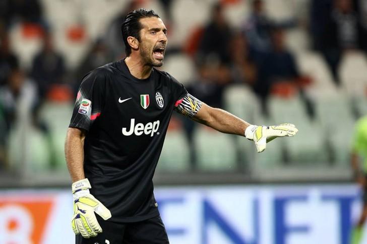 il portiere dei bianconeri Buffon